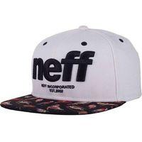 czapka z daszkiem NEFF - Hardr (WHIT)