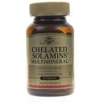 Tabletki Solgar Sole Mineralne Chelaty - 90 tabletek