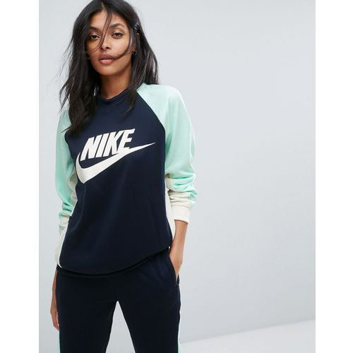 rally crew neck sweatshirt - black marki Nike