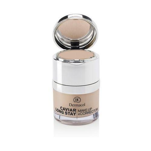 Dermacol caviar long stay make-up & corrector podkład 30 ml dla kobiet 3 nude - Najlepsza oferta