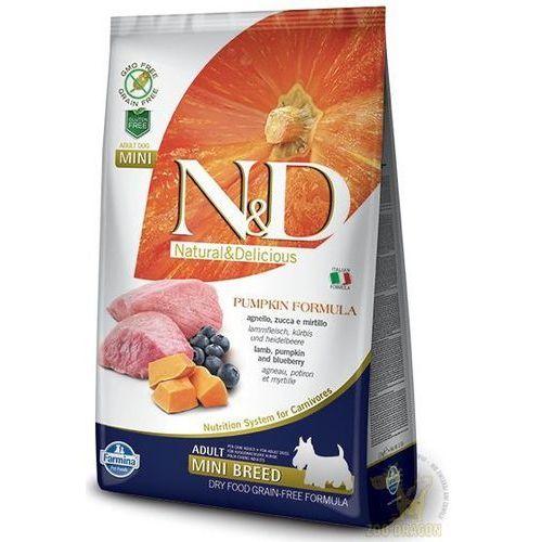 N&D Dog No Grain Pumpkin Mini Lamb & Blueberry 7kg