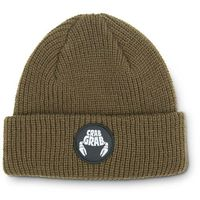 czapka zimowa CRAB GRAB - Circle Patch Beanie Brown (BRN) rozmiar: OS