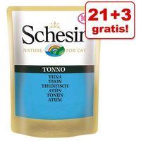 21 + 3 gratis! Schesir w galarecie, 24 x 100 g - Filet z kurczaka z labraksem (8005856751092)