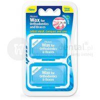 orthodontic wax wosk ortodontyczny 2 opakowania (e1701) marki Piksters