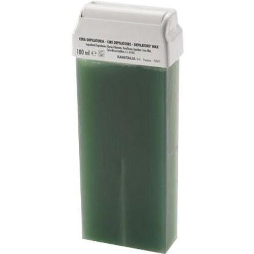 Wosk do depilacji z rolką szeroką azulenowy 100ml Cosnet - Promocja
