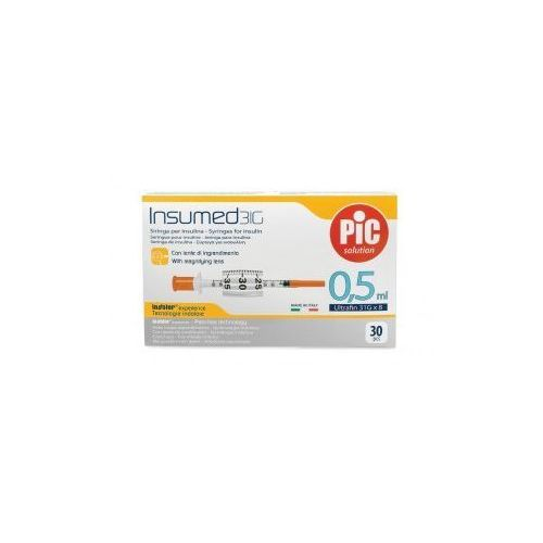 Strzykawki insulinowe INSUMED 0,5ml G31x8mm (30szt.)