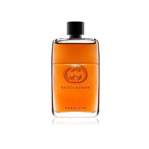 Gucci guilty absolute pour homme woda perfumowana 90 ml dla mężczyzn - Najlepsza oferta