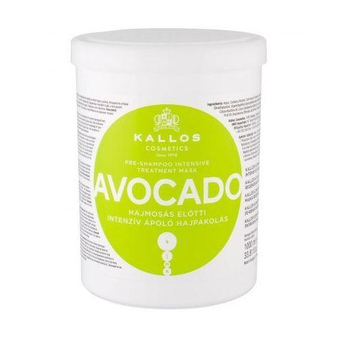 avocado maska do włosów 1000 ml dla kobiet marki Kallos cosmetics