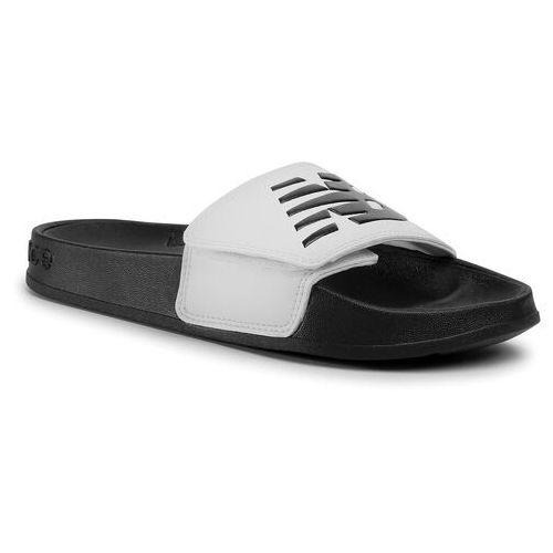 Klapki - swa200w1 biały, New balance, 35-41.5