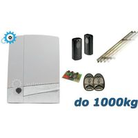 CAME Zestaw BXV 10 SAFE (1000kg/24V) XL - 7mb listwy zębatej