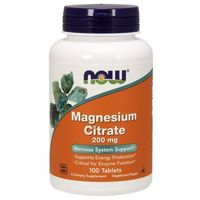 Magnesium Citrate (Cytrynian Magnezu) 200mg 100 tabl.