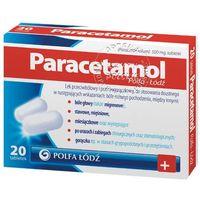 Paracetamol tabl.500mg x 20 /Polfa Lodz (5909990699551)