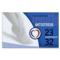 Podkolanówki przeciwżylakowe medyczne unisex ii klasy kompresji, ucisk 23-32 mmhg; palce otwarte, linia terapeutica - antistress marki Antistress (włochy)