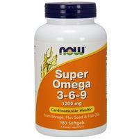 Kapsułki Now Foods Super Omega 3-6-9 180 kaps.