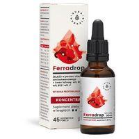 Krople Ferradrop - żelazo + kwas foliowy koncentrat krople 30ml