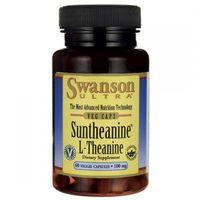 Kapsułki Swanson L-Teanina Suntheanine 100mg - (60 kap)