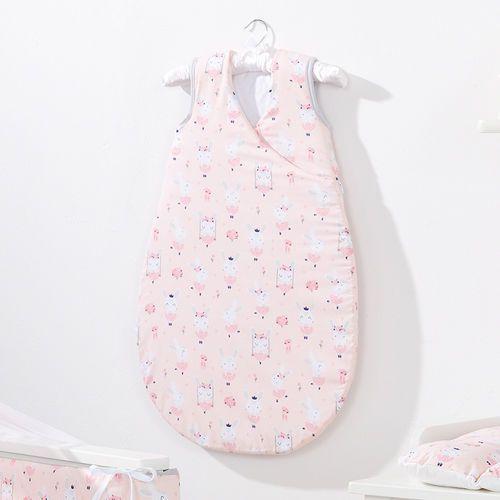 śpiworek niemowlęcy do spania bubble zajączki morelowe marki Mamo-tato