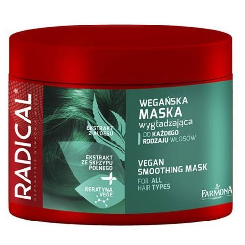 Farmona RADICAL Wegańska maska wygładzająca do każdego rodzaju włosów (300 ml) - Godna uwagi cena
