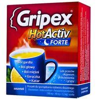 Proszek Gripex HotActiv Forte 12 SASZ.