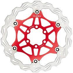 lightweight disc-rotor tarcza hamulców tarczowych 6-otwory czerwony tarcze hamulcowe rowerowe marki Clarks
