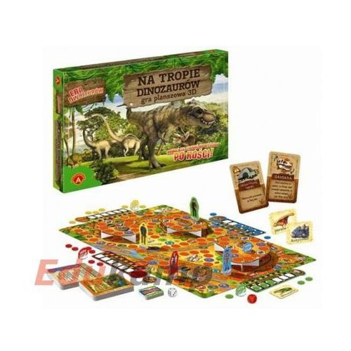 Alexander Gra 3d na tropie dinozaurów