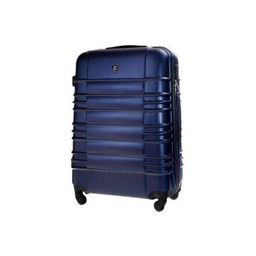 Solier Duża walizka podróżna stl838 granatowa (5900718506311)