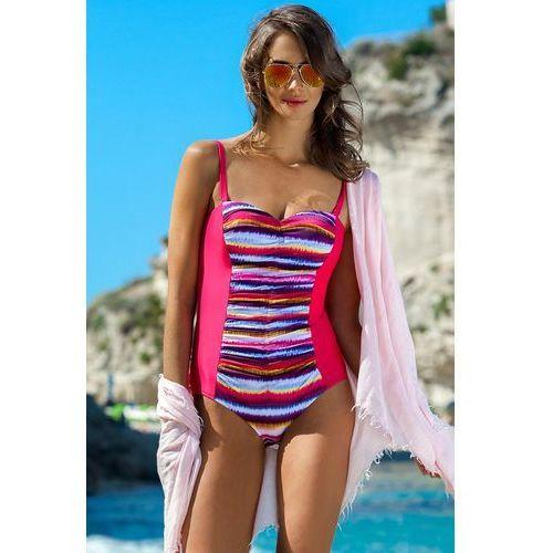 151a73a6c1f96b Ewlon Ewlon Jednoczęściowy strój kąpielowy kostium kąpielowy model scarlet  malina