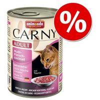 ANIMONDA Carny Adult smak: wołowina, kurczak i kacze serca 6x400g, KANI003_PAK12