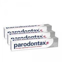 3 x Parodontax Delikatne Wybielanie pasta 75ml
