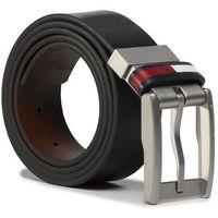 Pasek Męski TOMMY JEANS - Tjm Corp Leather Rev 3.5 AM0AM05961 BDS