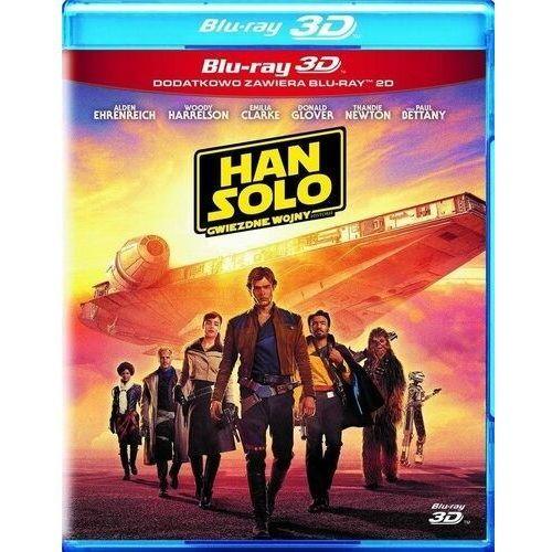 Ron howard Han solo: gwiezdne wojny - historie (3bd 3-d) (płyta bluray) (7321917506793)
