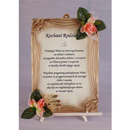 Dyplom podziękowania Kochani Rodzice