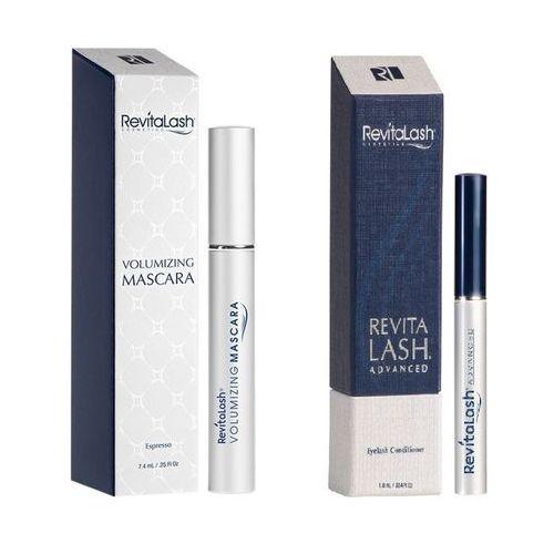 zestaw | eyelash conditioner advanced 1,0ml + volumizing mascara espresso 7,4ml marki Revitalash