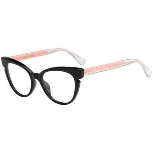 Fendi Okulary korekcyjne ff 0134 n7a