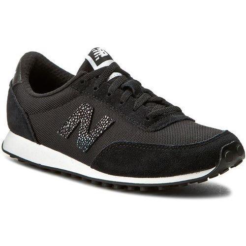 Sneakersy NEW BALANCE - WL410BL Czarny, kolor czarny