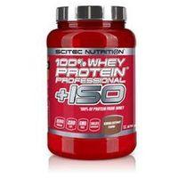 SCITEC 100% Whey Protein Professional+ ISO - 870 g - Czekoladowy