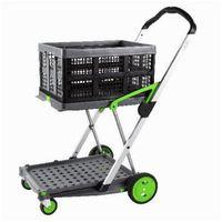 Clax, wózek transportowy, składany - alu, CLAX