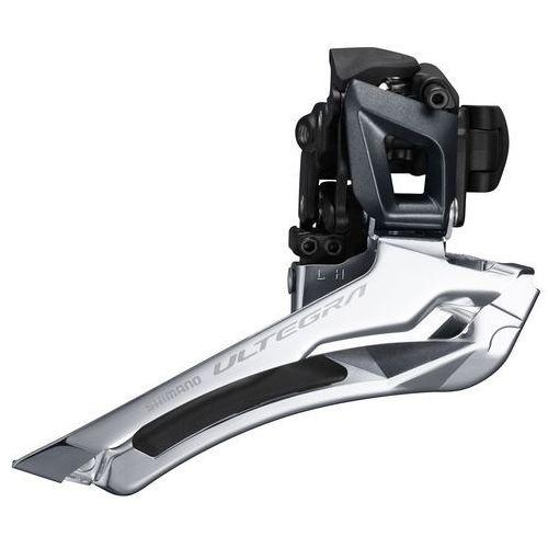 Shimano Ultegra FD-R8000 2x11 Przerzutka przednia 2x11 Schelle wysoki czarny 31,8mm 2018 Przerzutki szosowe przednie