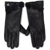 Rękawiczki Damskie LIU JO - Guanto Nappa Ponpo 269088 P0015 Nero 22222
