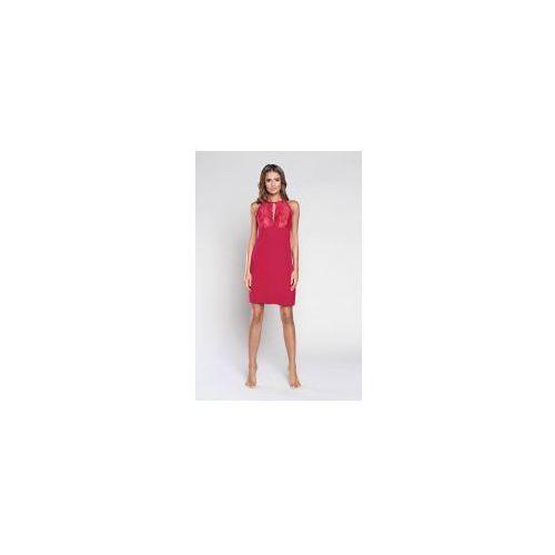 e5a49e25392f40 Koszula na ramiączkach - galaktyka karmazyn marki Italian fashion
