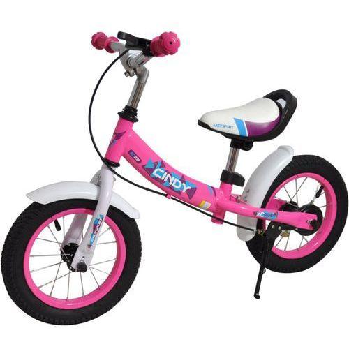 Rowerek biegowy a24676 cindy + zamów z dostawą jutro! + darmowy transport! marki Axer sport