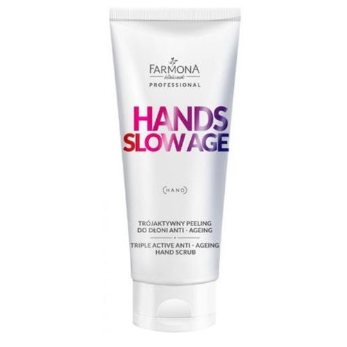 Farmona HANDS SLOW AGE Trójaktywny peeling do dłoni - Super oferta