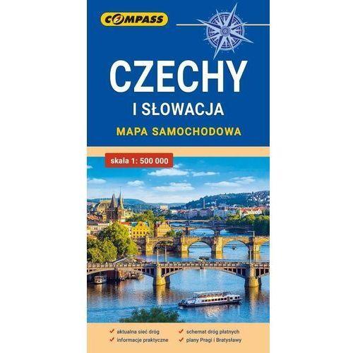 Mapa samochodowa. Czechy i Słowacja - praca zbiorowa - książka (2020)