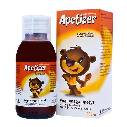 Syrop Apetizer syrop dla dzieci 100 ml
