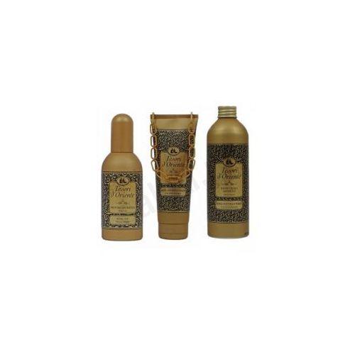 Zestaw Tesori d'Oriente Royal Oud - żel pod prysznic, płyn do kąpieli, perfumy