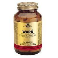 Tabletki SOLGAR Wapń chelat aminokwasowy x 100 tabletek
