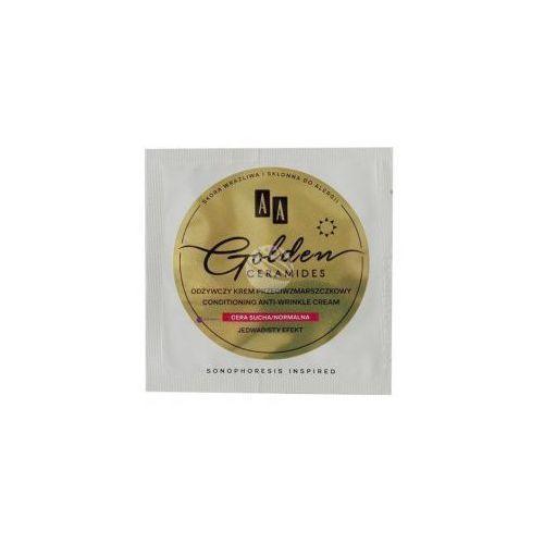 Aa Próbka golden ceramides (w) odżywczy krem przeciwzmarszczkowy na dzień cera sucha/normalna