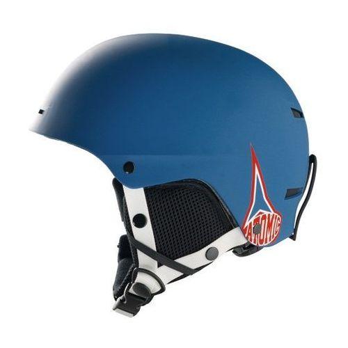 Dziecięcy kask narciarski troop jr blue m (55-58 cm) Atomic