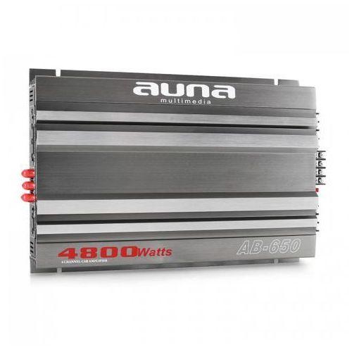 Auna ™ ab-6506-kanałowy wzmacniacz samochodowy 540w rms 4800w max.