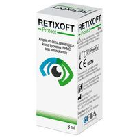 Verco Retixoft protect krople do oczu 8ml